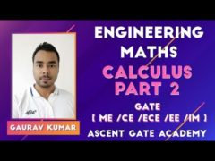 Engg Maths for GATE Calculus Part 2