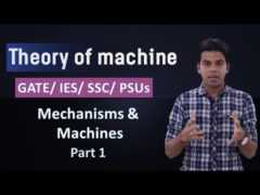 Theory of Machines: Mechanisms & Machines Part 1